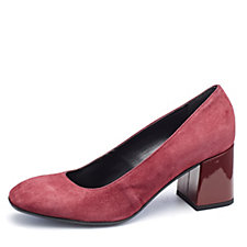Manas Suede Court Shoe