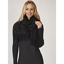 Betty & Co Foil Speckled Scarf