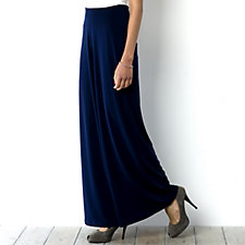 Kim & Co Stretch Crepe Wide Waistband Regular Trouser
