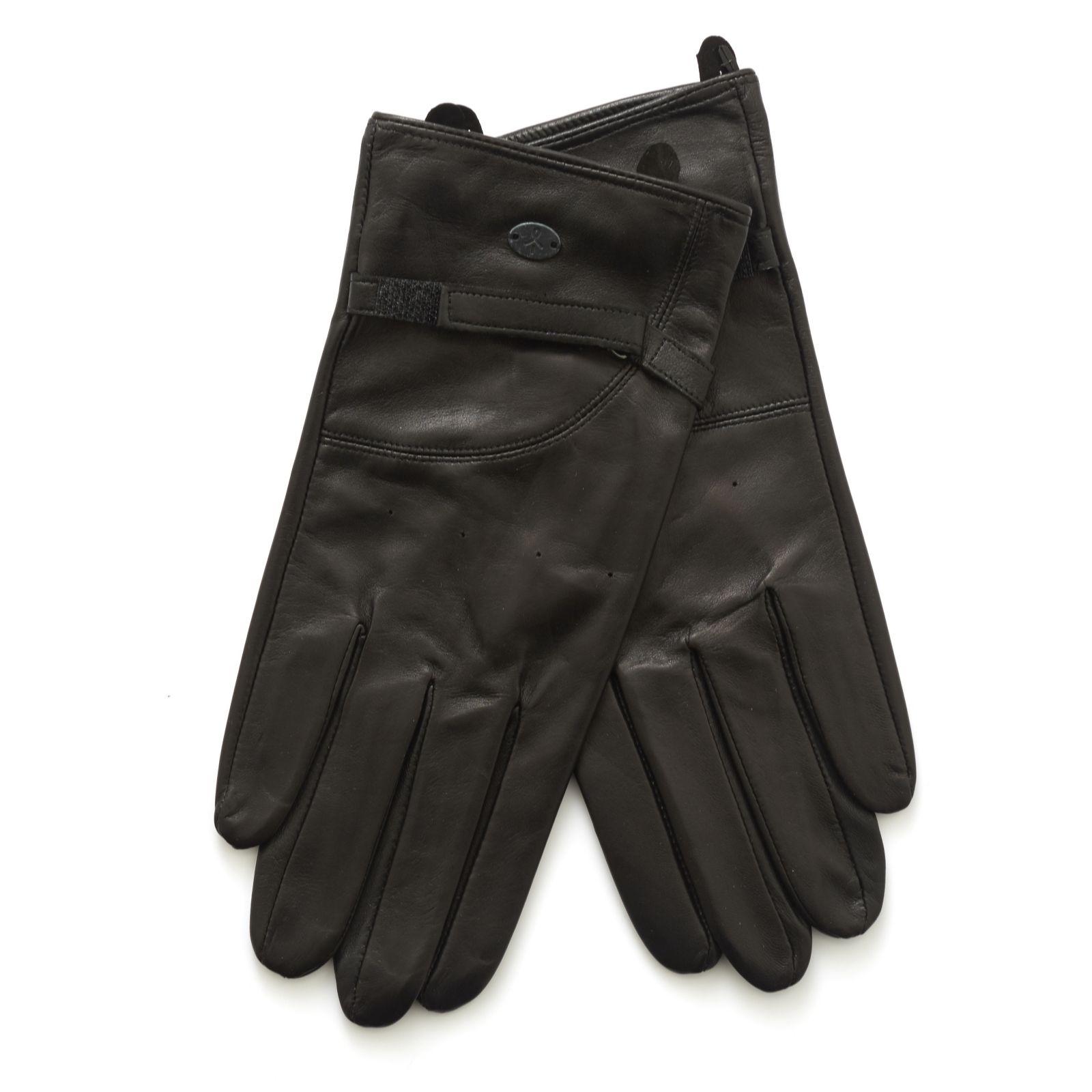 2a877efa04d71 Emu Ginrock Leather Gloves - QVC UK