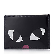 Lulu Guinness Kooky Cat Cardholder