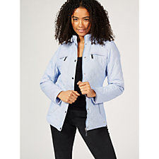 Rino & Pelle Quilted Jacket with Stretch Side Panels
