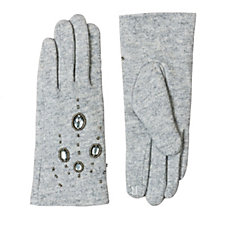 Pia Rossini Piper Embellished Gloves 016044bcd7cf
