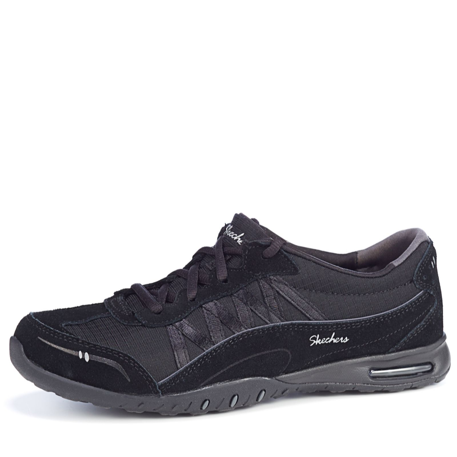 4f30e2914a362f Skechers Relaxed Fit Easy Air Day by Day Lace Up Trainers - QVC UK