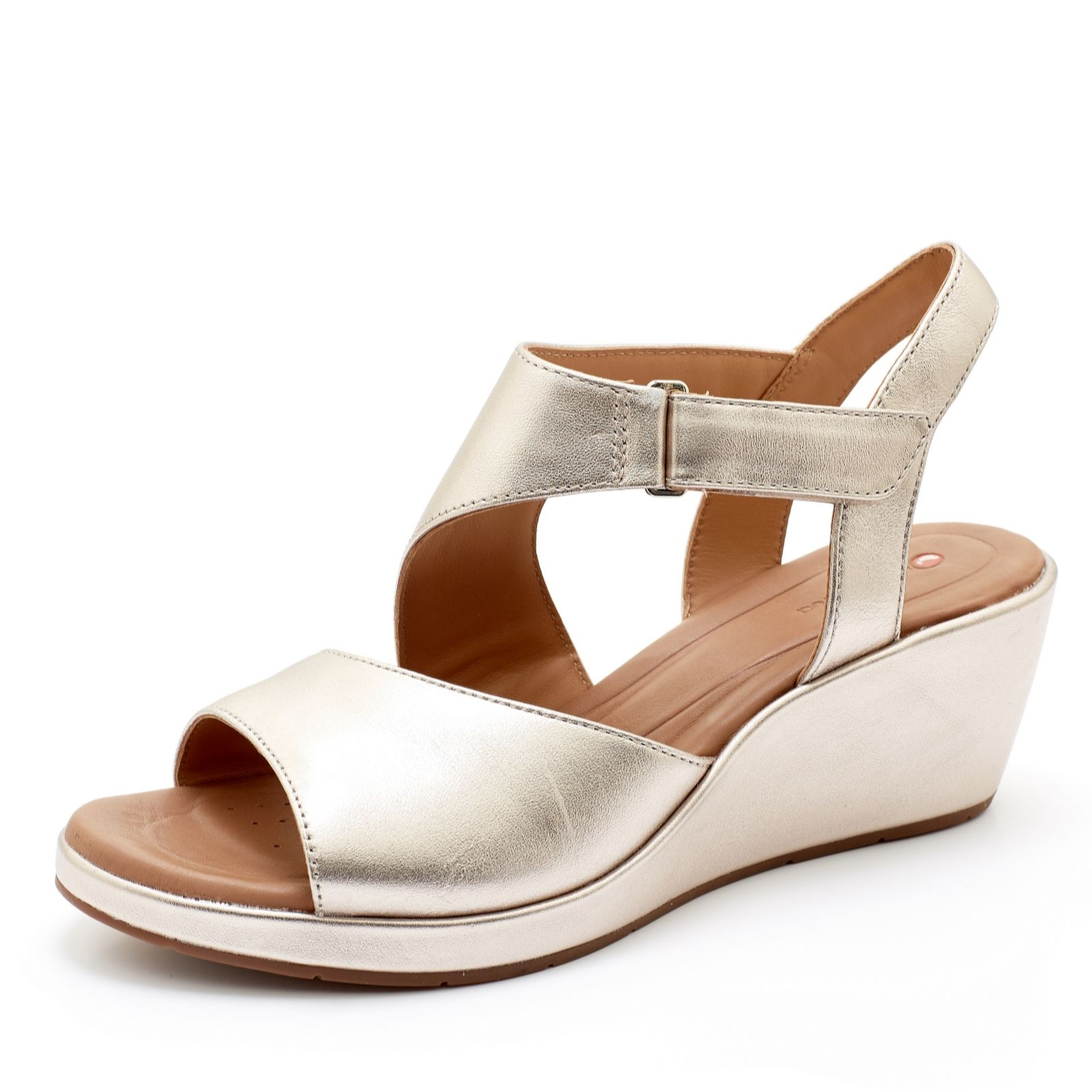 885ba62f8 Clarks Un Plaza Cross Slingback Sandal Standard Fit - QVC UK