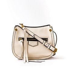 Aimee Kestenberg Otto Small Leather Top Zip Crossbody Bag