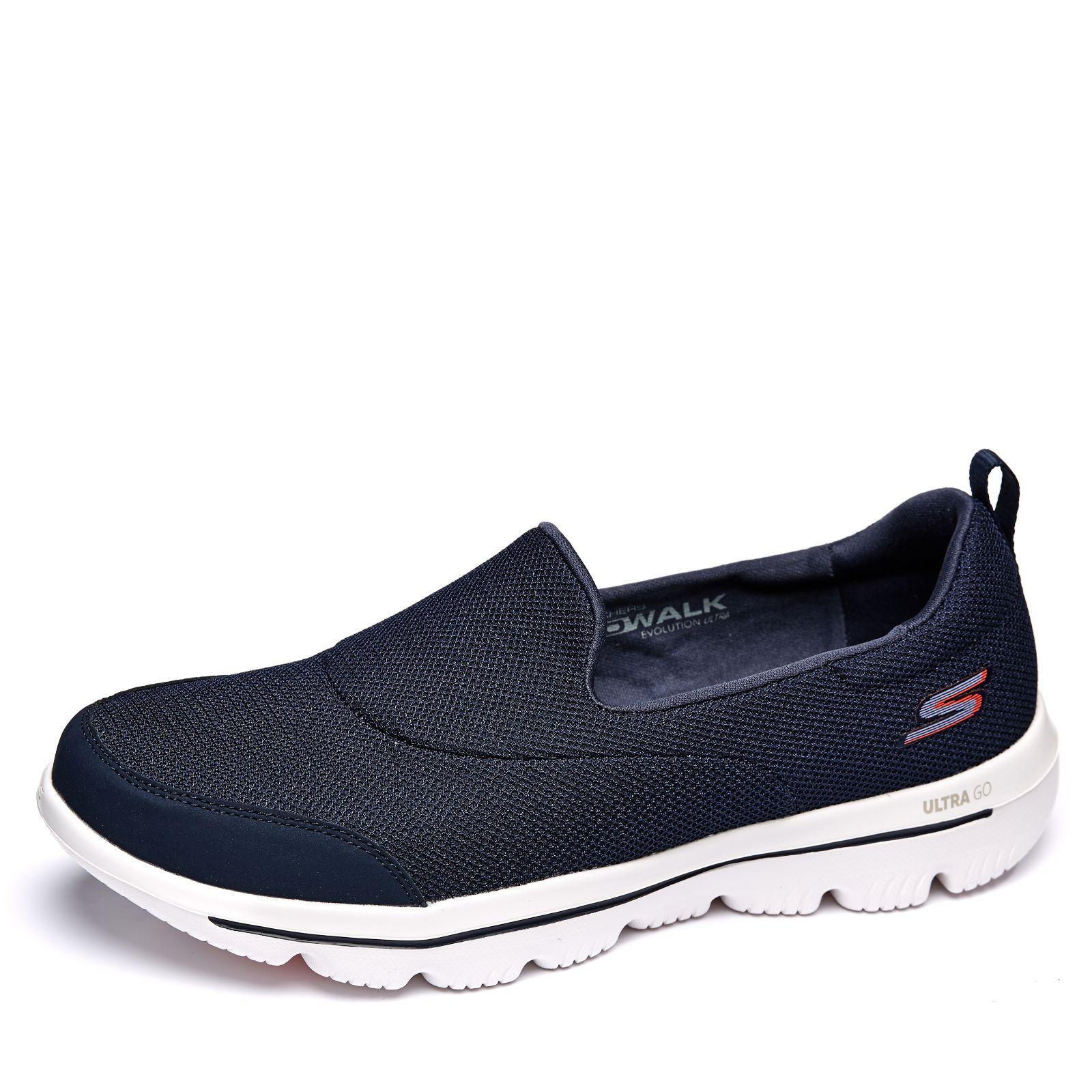 Shop für Beamte Farben und auffällig am besten auswählen Skechers Go Walk Evolution Ultra Reach Mesh Slip On Trainer - QVC UK