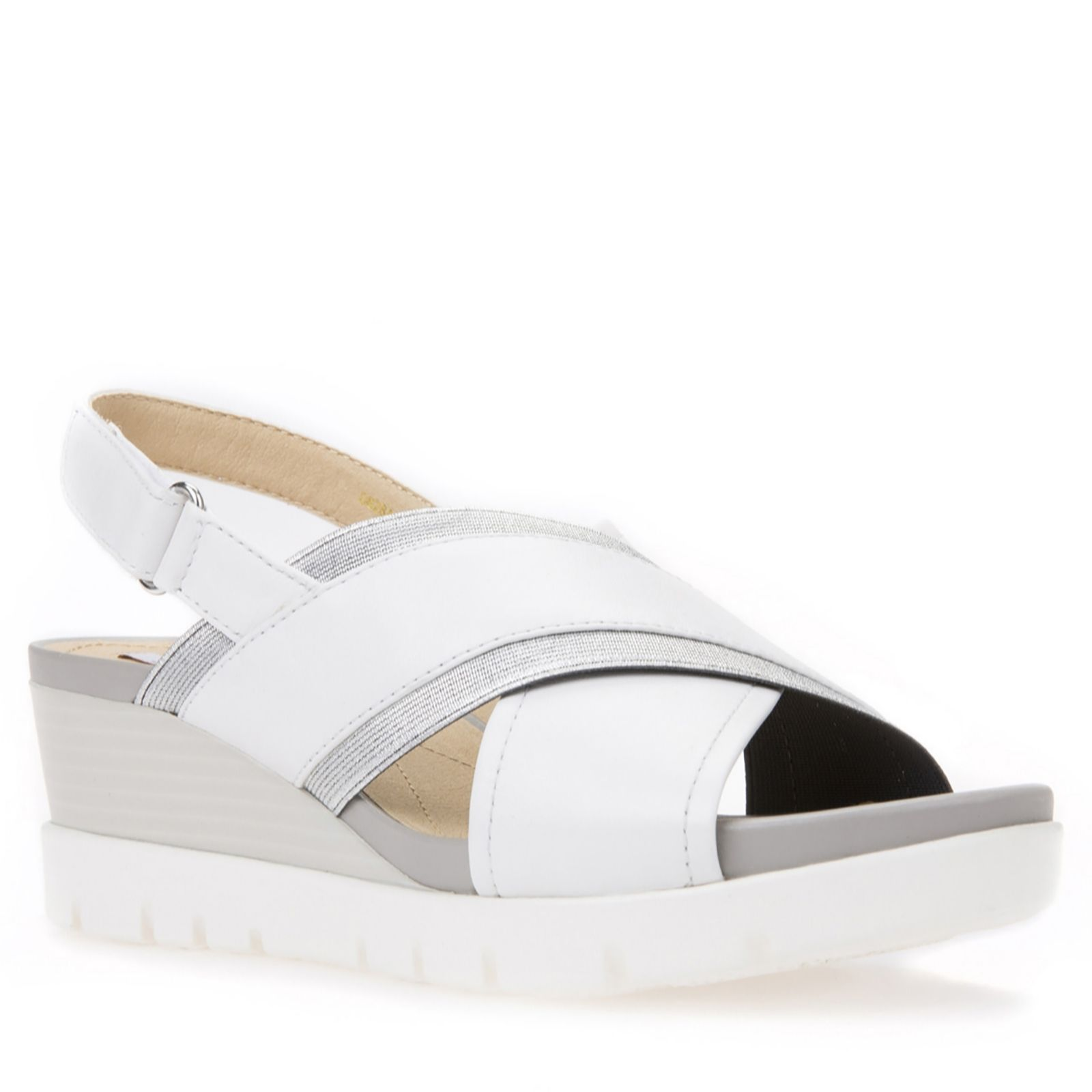 0eef8bff86e Geox Mary Karmen Wedge Sandals - QVC UK