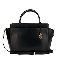 Amanda Wakeley The Sutherland Large Leather Tote Bag with Crossbody Strap