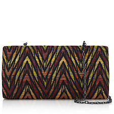 Butler & Wilson Graphic Print Clutch Bag