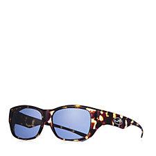 JPE Fitover Vintage Sunglasses with Polarvue Lenses   Case de64923a87d2
