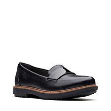 Clarks Raisie Arlie Leather Loafer Standard Fit