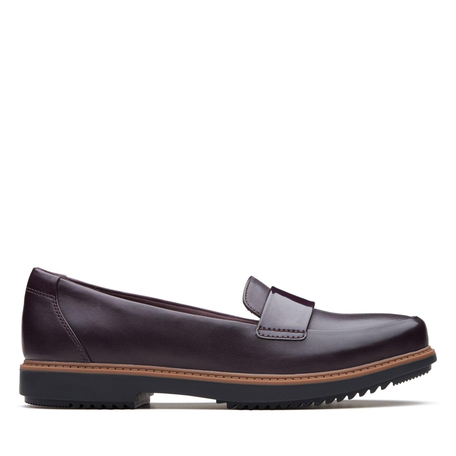 82082daa0da Clarks Raisie Arlie Leather Loafer Standard Fit - QVC UK