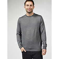 Dressage by Paul Costelloe Men's Merino Wool Crew Neck Sweater