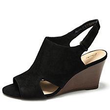bec7c81102f1 Clarks Raven Mist Wedge Sandal Standard Fit