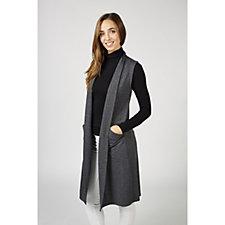 Cuddl Duds Comfortwear Sleeveless Longline Waistcoat