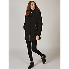 Centigrade Quilted Jacket with Hidden Extended Hood
