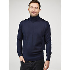 Dressage by Paul Costelloe Men's Merino Wool Roll Neck Sweater