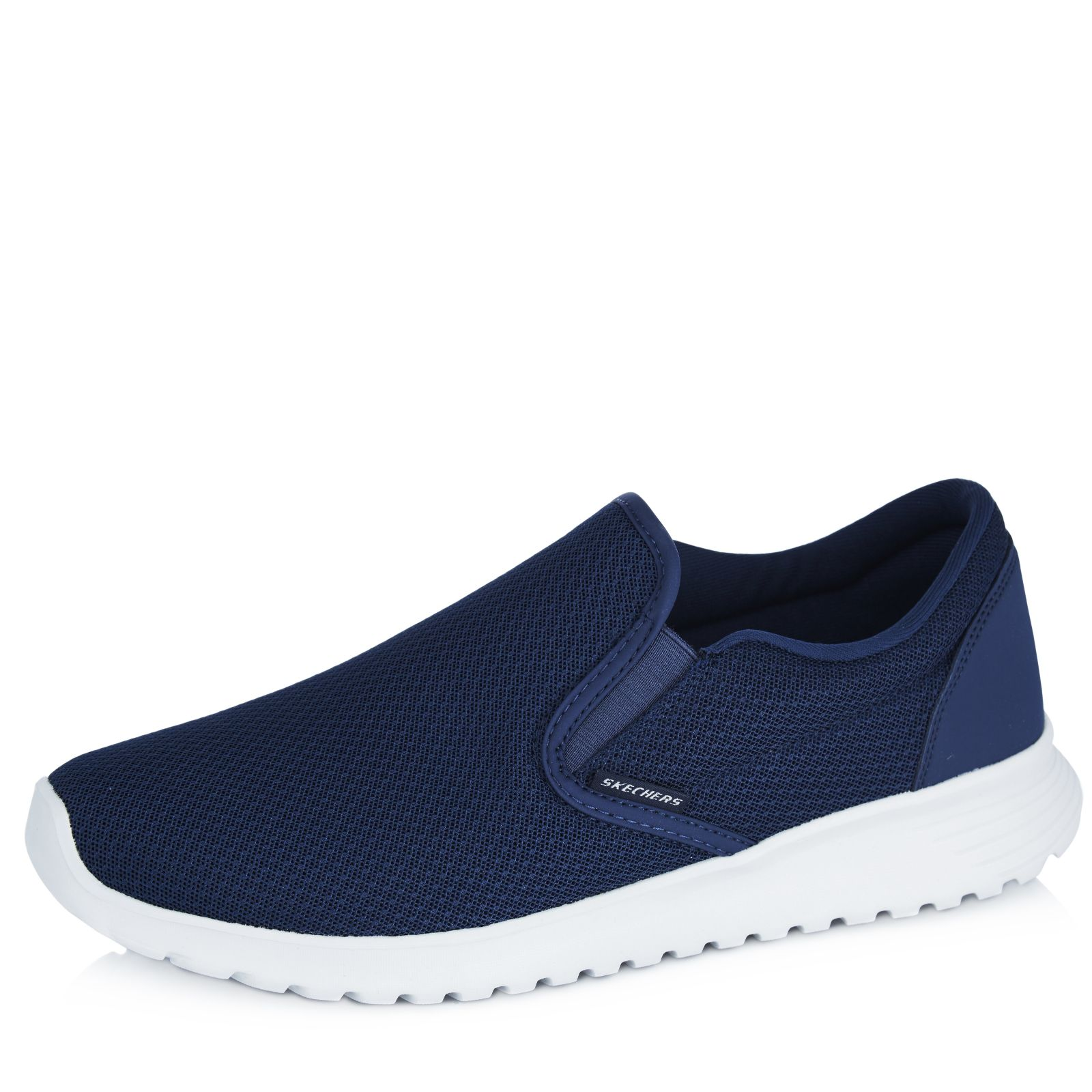 Skechers Zimsey Mesh Men's Slip On Shoe with Air Cooled Memory Foam - QVC UK