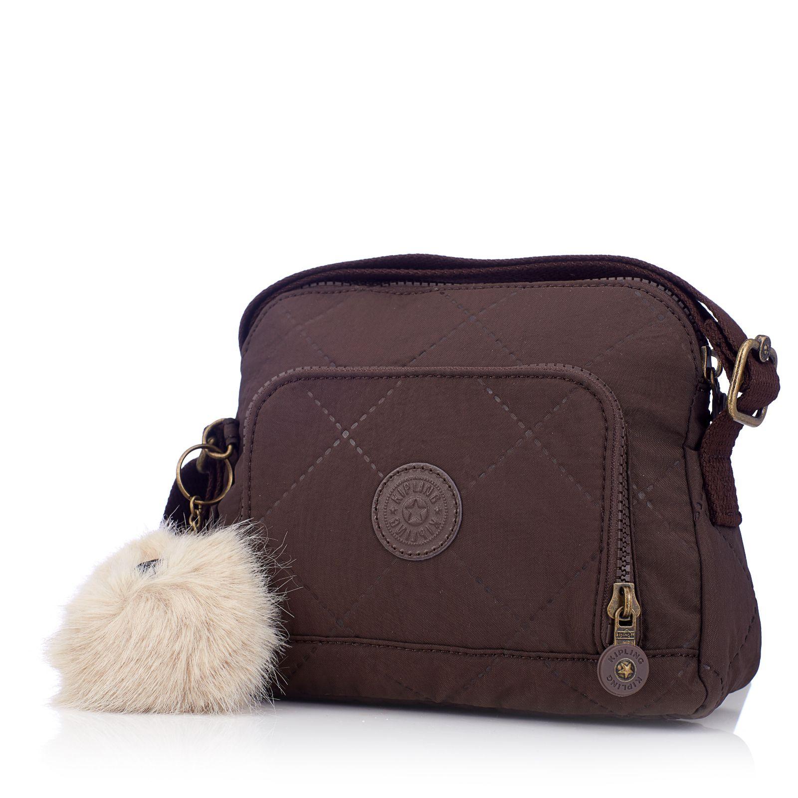 3265c724f6 Kipling Wiske Premium Small Crossbody Bag   Adjustable Strap - QVC UK