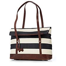 Radley London Babington Stripe Medium Shoulder Bag
