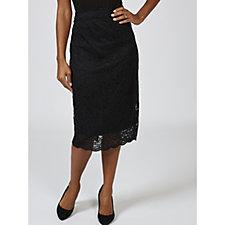 Ruth Langsford Lace Pencil Skirt