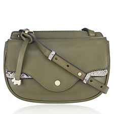 Radley London Coopers Row Small Leather Flapover Crossbody Bag