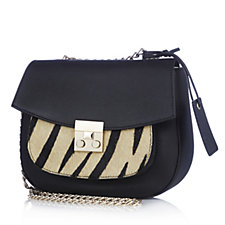 Ashwood Leather Shoulder Bag with Chain Strap