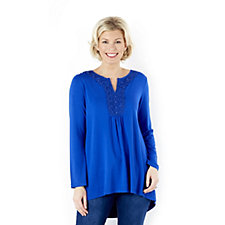 Together Crochet Front Tunic