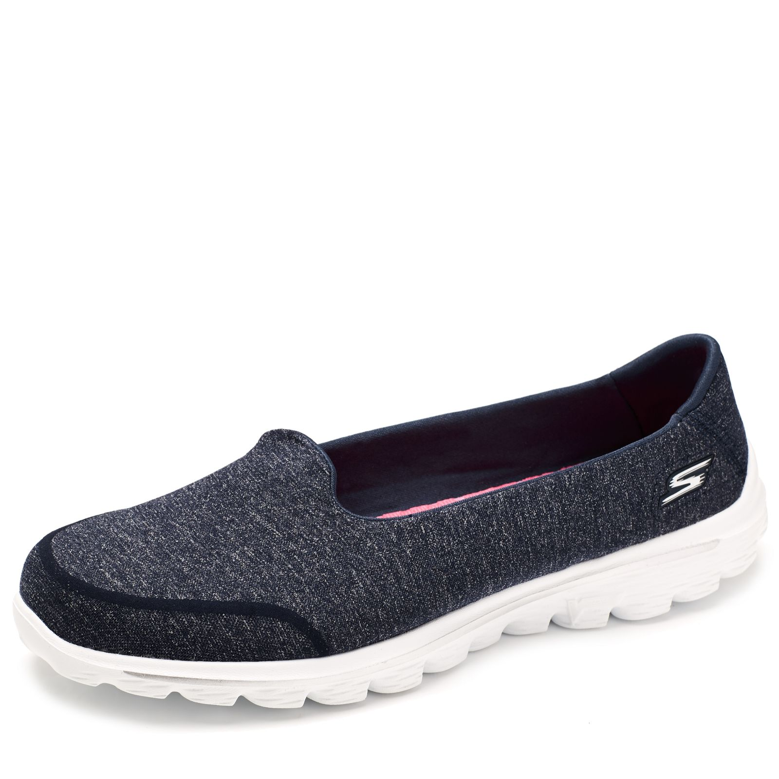 0e639bfb2f7a Skechers GOwalk 2 Super Sock Walking Shoe with Goga Mat Insole - Page 1 -  QVC UK
