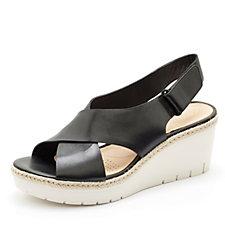 Clarks Palm Glow Wedge Sandal Standard Fit