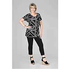 Ruth Langsford Cotton Twill Crop Trousers Regular