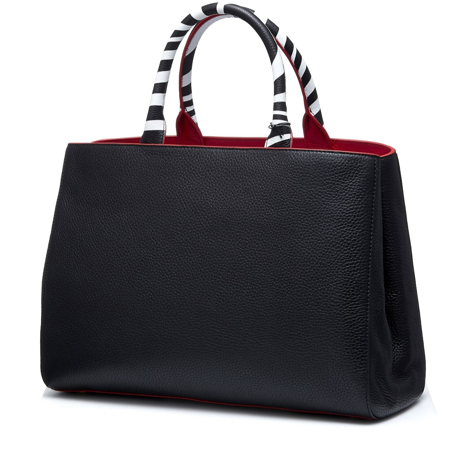 7aff738996a3c Lulu Guinness Amelia Triple Tone Tote Bag - QVC UK