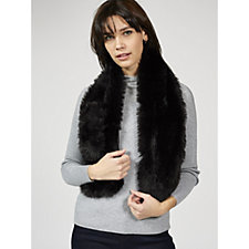 Dennis Basso Faux Fur Loop Through Scarf