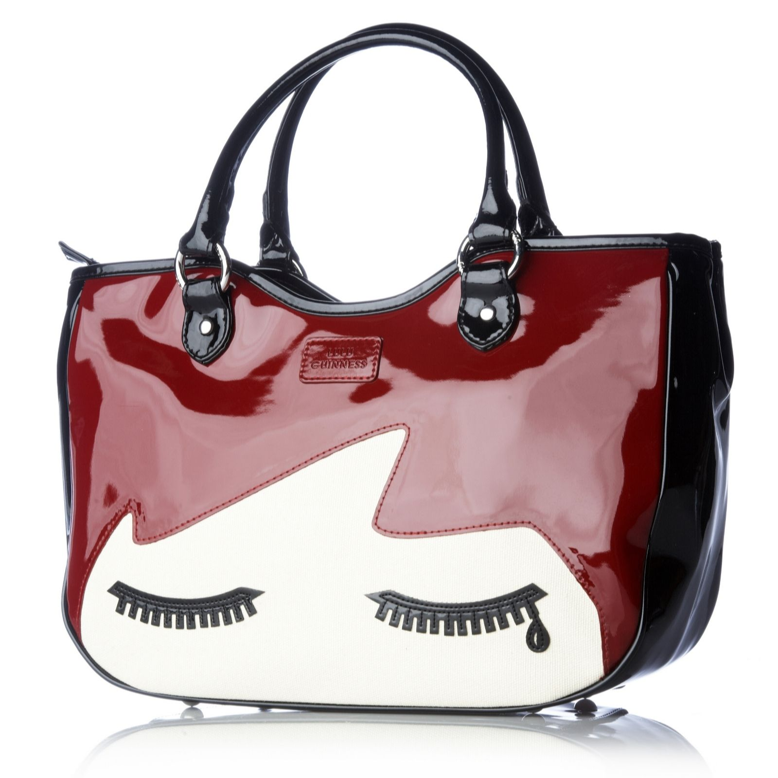 0f6429c7d55 Lulu Guinness Doll Face Wanda Bag - QVC UK