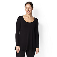Join Clothes Long Sleeve Scoop Neck Top