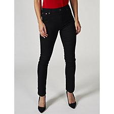 Kim & Co Power Stretch Fly Front Slim Leg Petite Jeans
