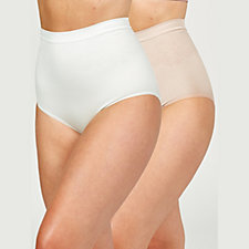 Vercella Vita Medium Control Diamond Rose High Waist Briefs Pack of 2