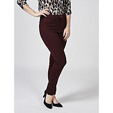 Kim & Co Ponte De Kim Fly Front Jersey Slim Leg Regular Trousers