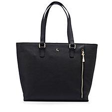 Ashwood Leather Zip Detail Tote Bag