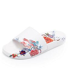 Slydes Cabana Floral Slider Flip Flops
