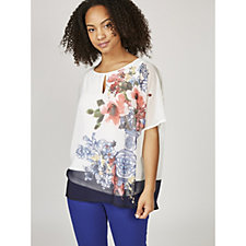 Phase Eight Tamara Vase Print Blouse
