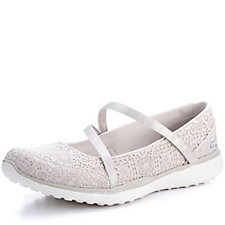 944afa995be7 Skechers Microburst Pure Elegance Crochet Mary Jane Shoe
