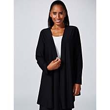 Antthony Designs Long Sleeve Jacket with Open Front