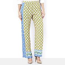 C. Wonder Printed Full Length Regular Trousers