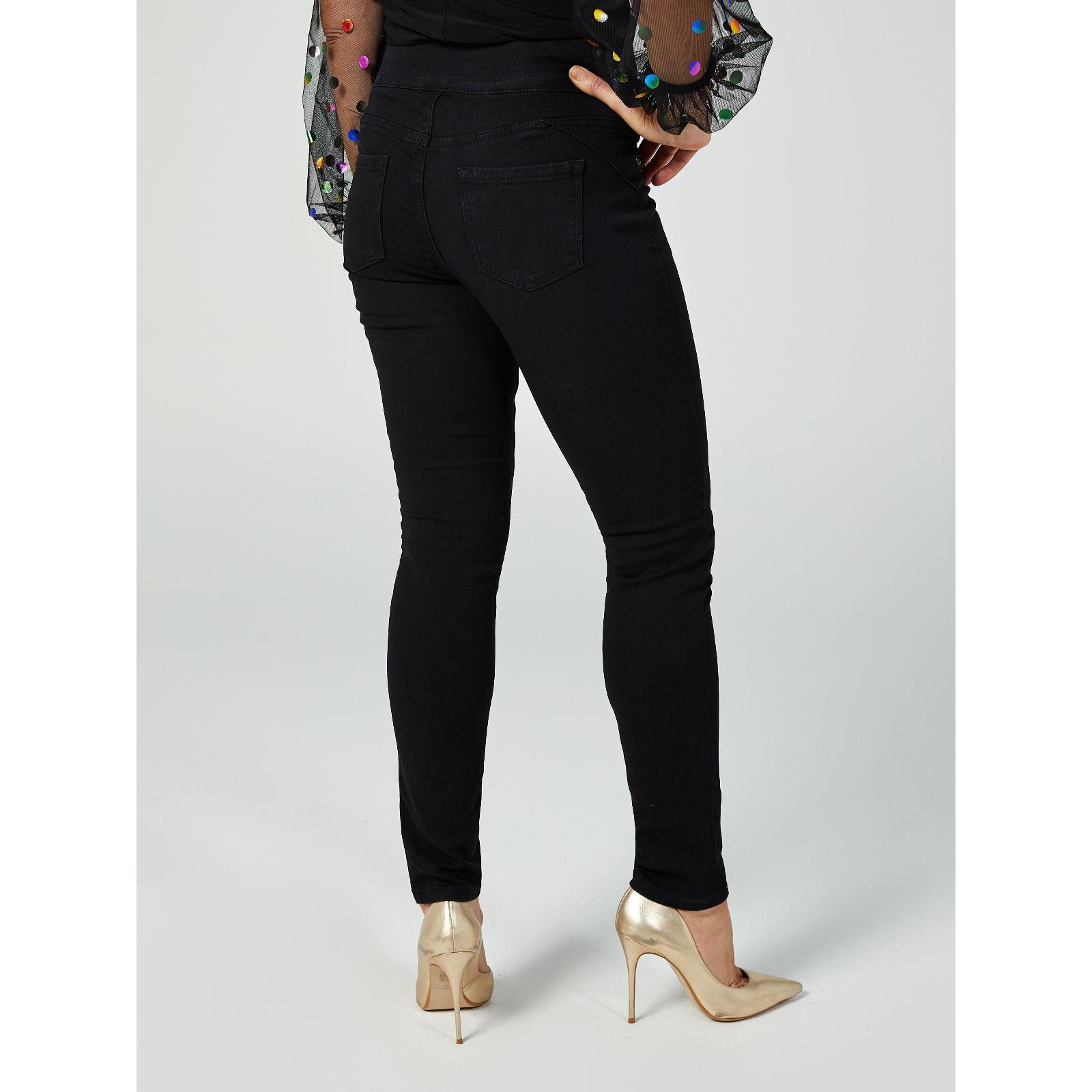 0d16d35fe20 Diane Gilman Skinny Pull On Jeans - QVC UK