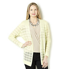 Outlet MarlaWynne All Over Burnout Cardigan