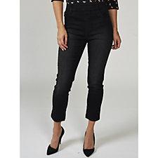 Kim & Co Power Stretch Pull On Slim Leg Petite Jeans