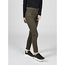 Joe Browns Embroidered Mid Rise Skinny Jeans