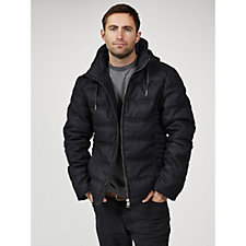 Rino & Pelle Men's Puffer Hooded Jacket